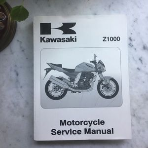 Kawasaki Z1000 Service Manual 2002